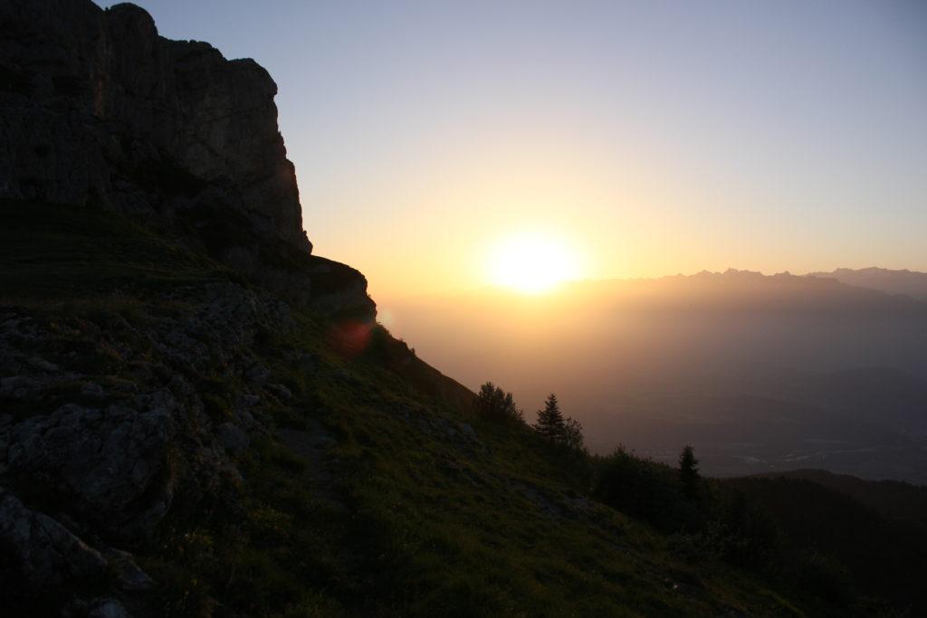 lever de soleil Vercors